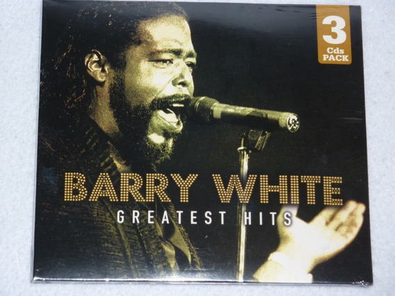 Barry White Greatest Hits - Nuevo 3 Cd´s