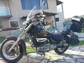 Moto Custom Em Estado De Nova
