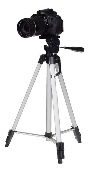 Tripé Aluminio 1,10m P/ Canon T6i Ef-s 18-55mm Is Stm