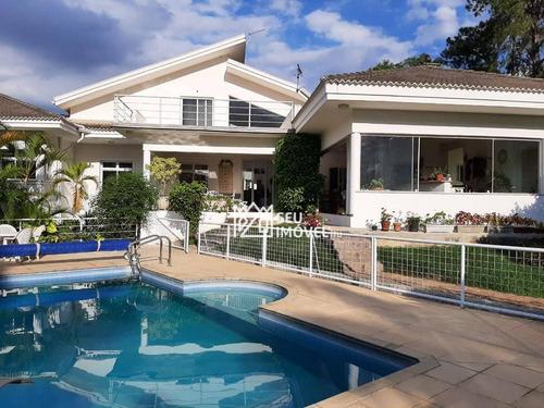 Casa Com 4 Dormitórios À Venda, 550 M² Por R$ 2.950.000,00 - Condomínio City Castelo - Itu/sp - Ca2124