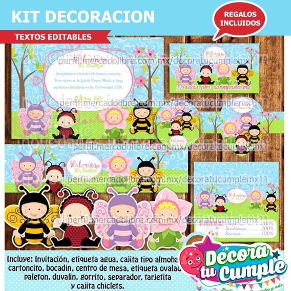 Kit Imprimible Niños Disfraces Primavera Invitación A72