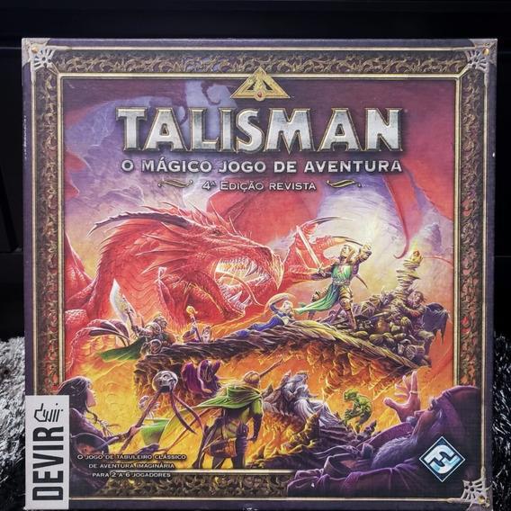 Jogo Tabuleiro Talisman Devir 4ª Edição - S/ Juros