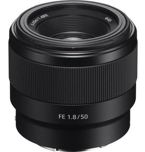 Lente Sony Fe 50mm F/1.8 Garantia + Nf