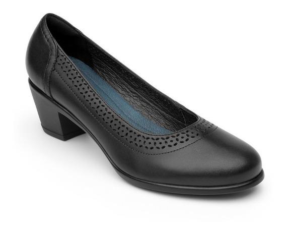 Zapato Flexi Dama 15412 Negro Casual Oficina