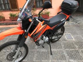 Yamaha Xtz 250 Lander Parabrisas Y Baúl