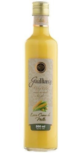 Imagem 1 de 1 de Licor De Milho Creme 500ml - Giullian's