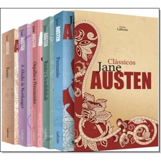 Box Jane Austen - 5 Volumes