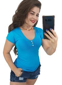 Kit 8 Blusinhas Baby Look Atacado Revenda Blusas Femininas