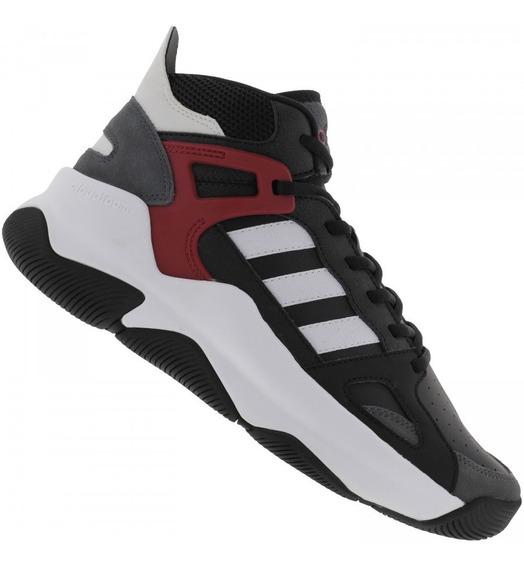 Tênis adidas Basquete Streetspirit Pto/bco Masculino
