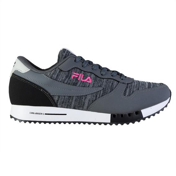 Zapatillas Fila Euro Jogger Mujer Gra/sil