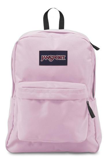 Mochila Superbreak Pink Mist Jansport