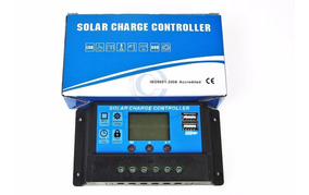 Controlador Carga Energia Solar 30a Usb 12/24v Pwm