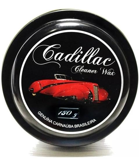 Cera De Carnaúba Cleaner Wax Cadillac Gold 150g Alto Brilho