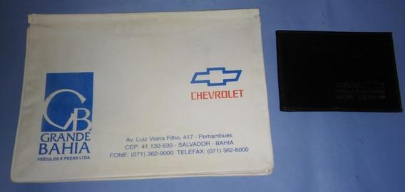 Capa Manual Prop Chevrolet Concessionaria Grande Bahia