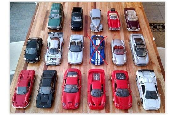 Vendo Coleção De Miniaturas De Automóveis, Escala 1:18.
