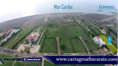 Venta De Lote Condominio Con Playa En Cartagena