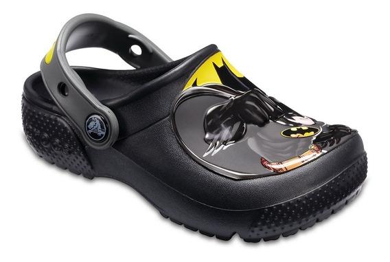 Crocs Fun Lab Disney Mickey O Batman Clog K Niños Abc Dep