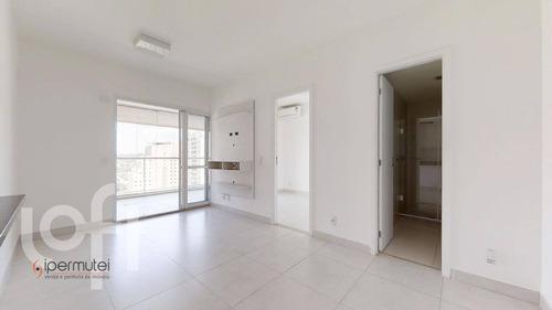 Ótimo Apartamento Com 1 Dormitório À Venda, 51 M² - Brooklin - São Paulo/sp - Ap1939