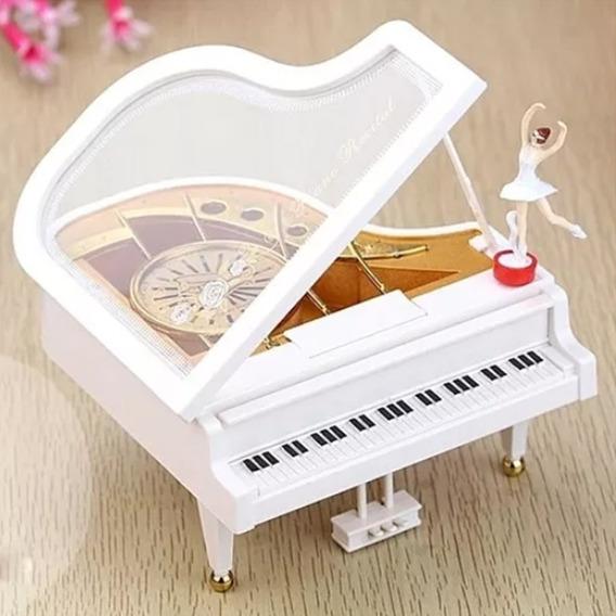 Alhajero Piano De Cuerda Musical Con Bailarina