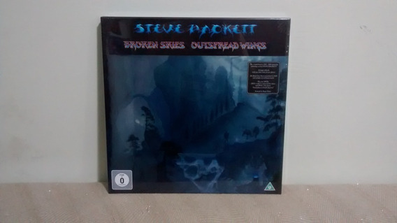 Steve Hackett Broken Skies Outspread Wings Box Set 8 Discs