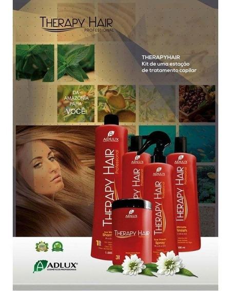 Kit Therapy Hair Adlux Com 5 Produtos Promoção Até 30/04