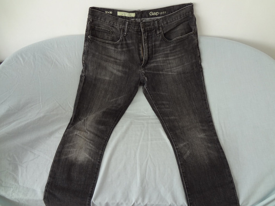 Pantalon Jean Gap Skinny Moulant Fit Talle 32/30