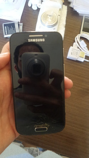 Galaxy S4 Zoom (placa Queimada) Tela Trincada