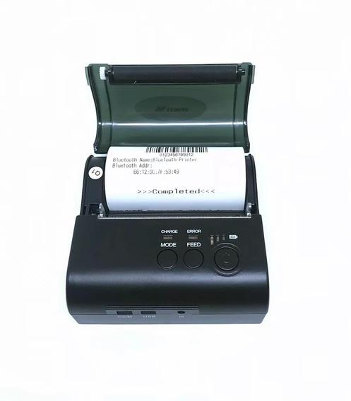 Mini Impressora Térmica Bluetooth 2.0 80mm Velocidade 90mm/