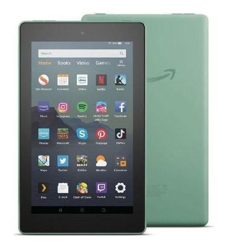 Tablet Amazon Fire 7 16gb Verde Wi-fi Com Alexa Original