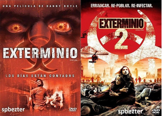 2 Peliculas Exterminio 28 Dias Despues, Exterminio 2