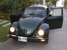 Volkswagen Vocho Sedan 2002 Verde Oscuro