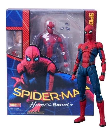 Boneco Figure Spider Man Homen Aranha Articulado