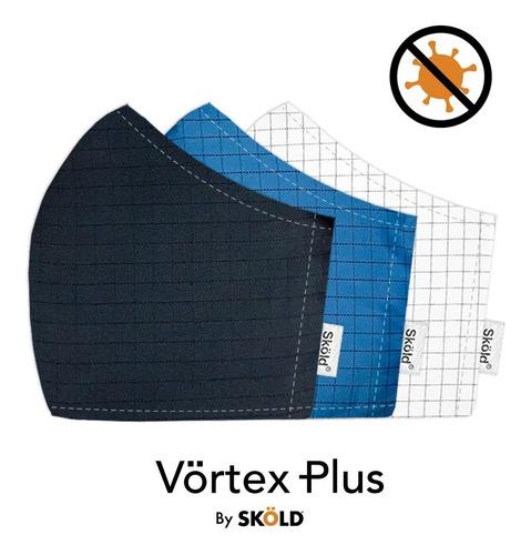 Vörtex Plus Eqn95 Glicoproteína, Nanopartículas Plata, Azul.