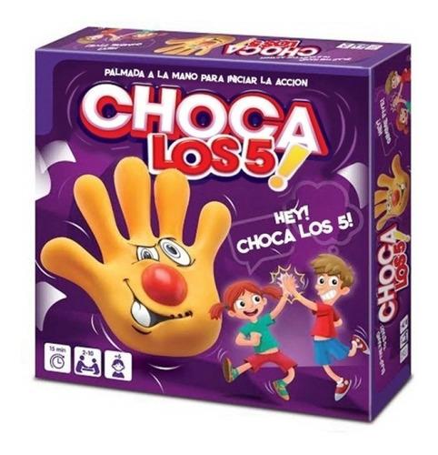 Choque Los Cinco 5 Juego De Mesa Original Toyco