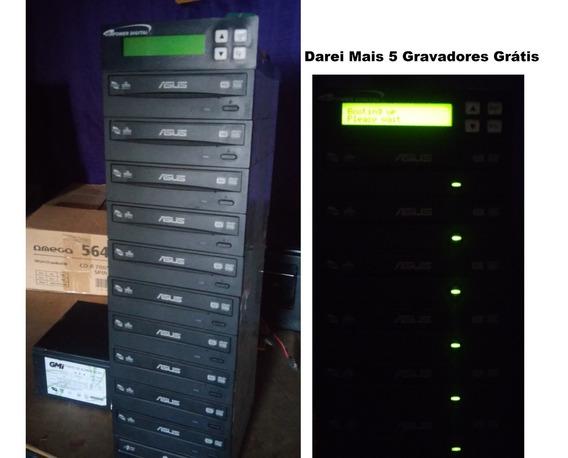 Duplicadora De Dvd E Cd Com 6 Gravadores Asus, Promoção!