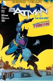 Batman Zero Year New 52 #24 Capa Alternativa Nycomiccon 2013