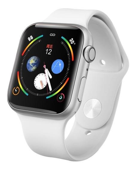 Smart Watch Iwo 9 Android iPhone Siri 44mm 2 Correas Watch 6