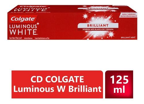 Crema Dental Colgate Luminous White Brilliant X 125ml