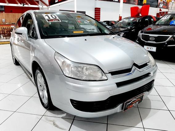 Citroën C4 Glx 2.0 Flex 16v Automático 2010 Prata Completo