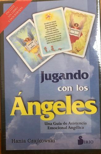 Jugando Con Los Ángeles,  Hania Czajkowski, Libro Y Cartas