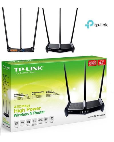 Imagen 1 de 1 de Router Tp Link Tl-wr941hp De Alta Potencia De Hasta 450mbps