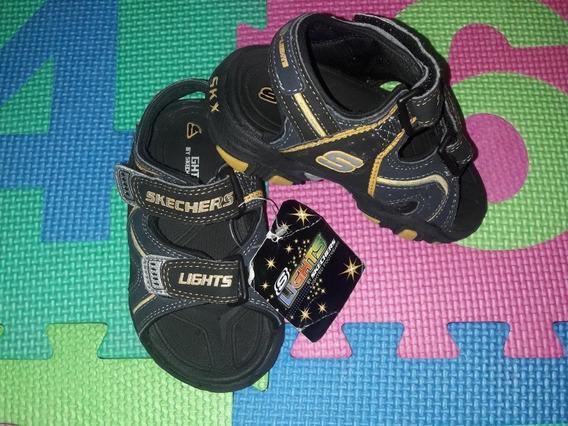 Sandalias Para Niño Skechers