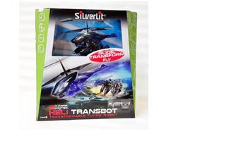 Robot Transbot Con Helicoptero Radio Control Art. 84678