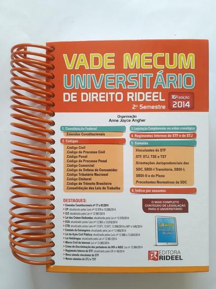 Vade Mecum Universitário De Direito - 16° Edição - 2014