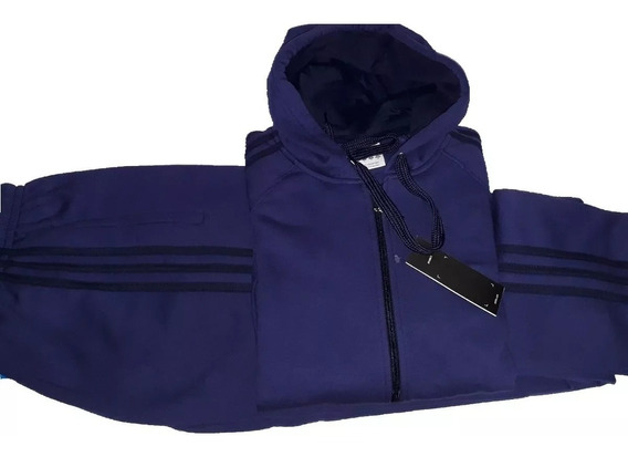 Conjunto Adida Campera Mas Pantalon, 100 % Algondon Frizado