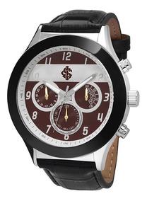 Relógio Technos Internacional Preto E Prata