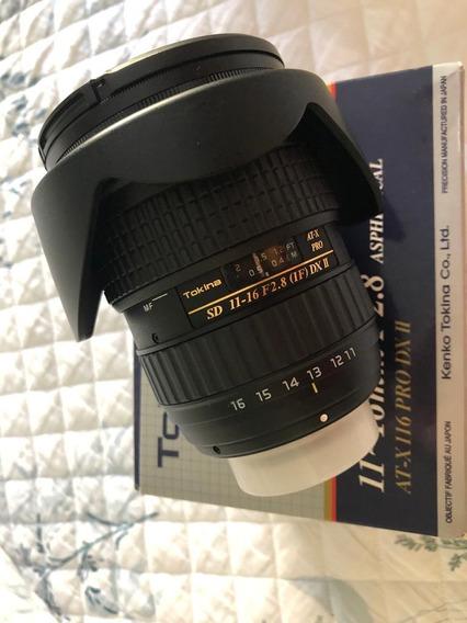 Lente Tokina 11-16mm F2.8