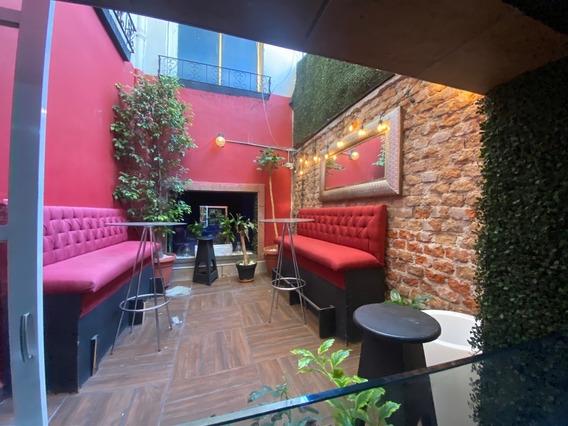 Trapaso Restaurante Bar En Operación, En La Roma Norte, Cuah