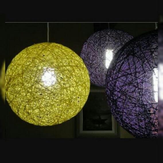 Luminarias E Lustres Artesanais