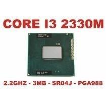 Processador Intel® Core I3-2330m (3m Cache, 2.20 Ghz)
